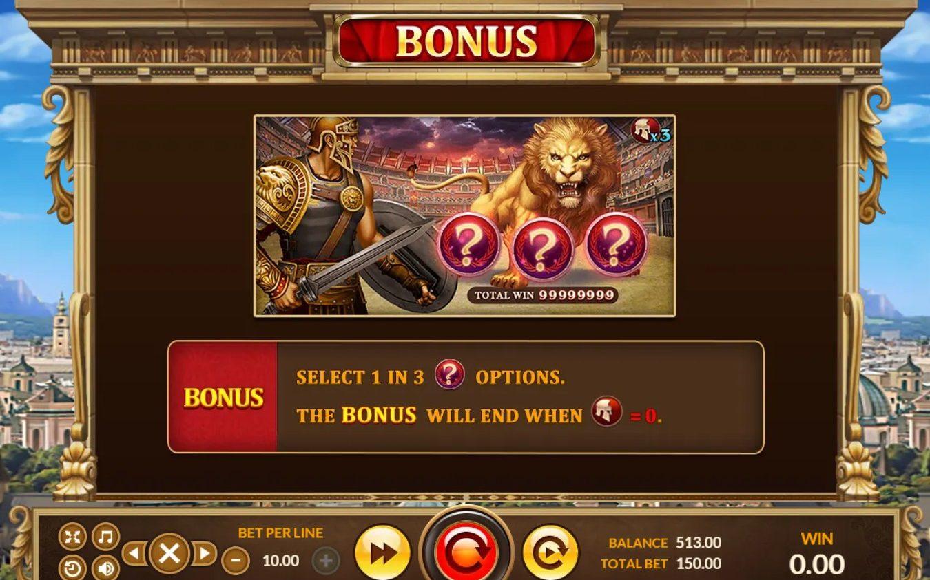 BONUS Slot Roma